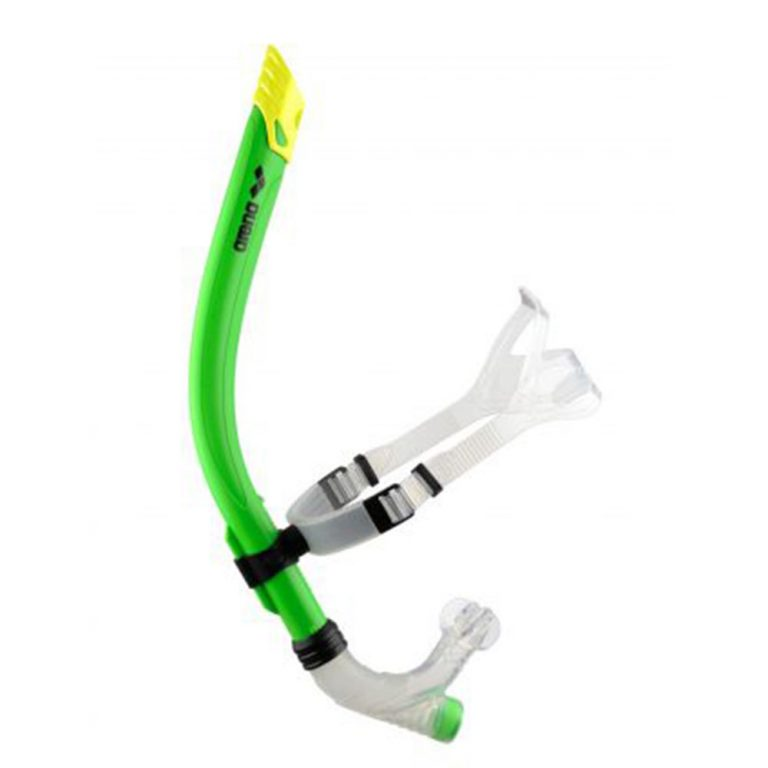 ARENA SWIM SNORKLE LIME GREEN 1