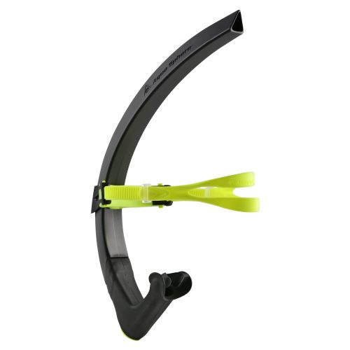 Focus Swim Snorkel Black:Neon Yellow:Black