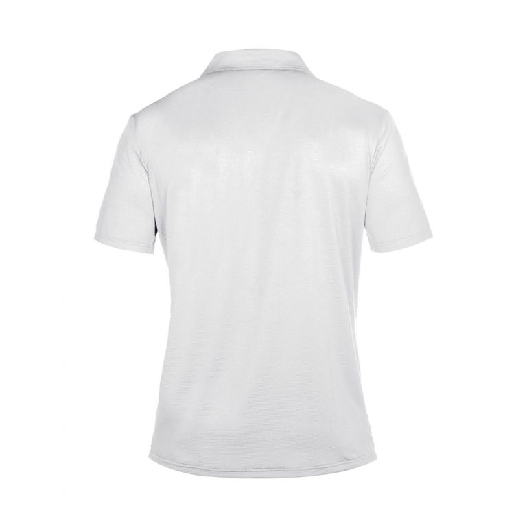 Arena Team Line Tech Short Sleeve Polo -White