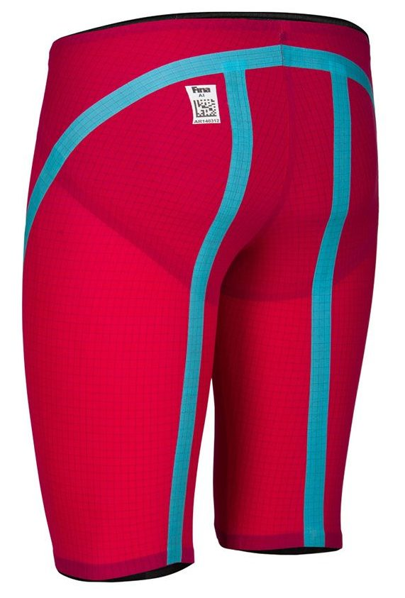 JAMMER VX FLEX BRIGHT RED TURQUOISE (BACK)