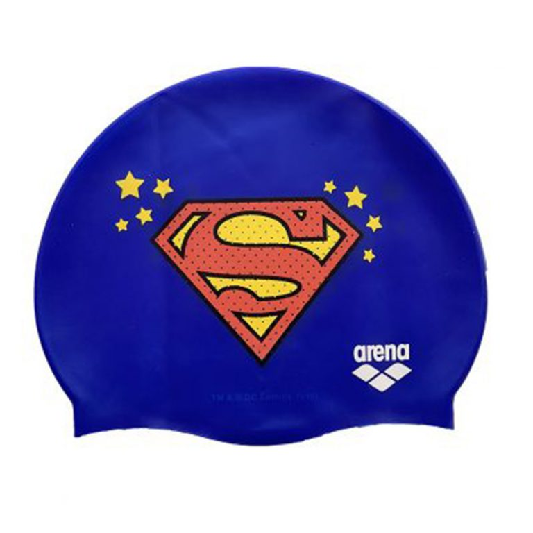ARENA SUPER HERO CAP SILICONE - SUPERMAN