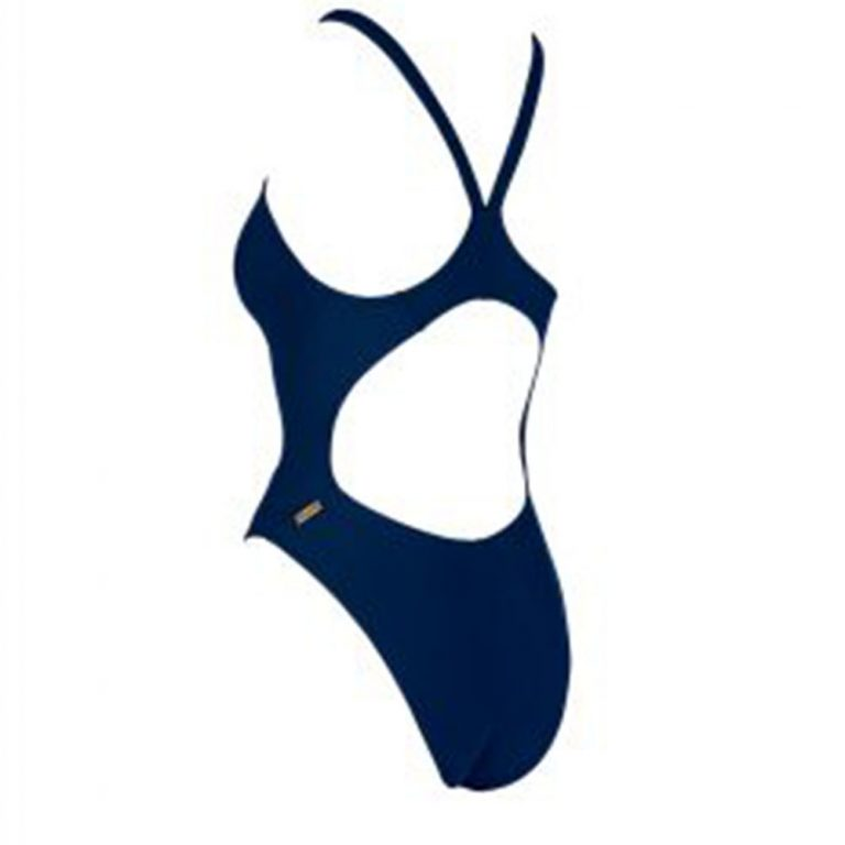 MIZUNO WOMEN'S EXER THICK STRAP SWIMSUIT BLUE